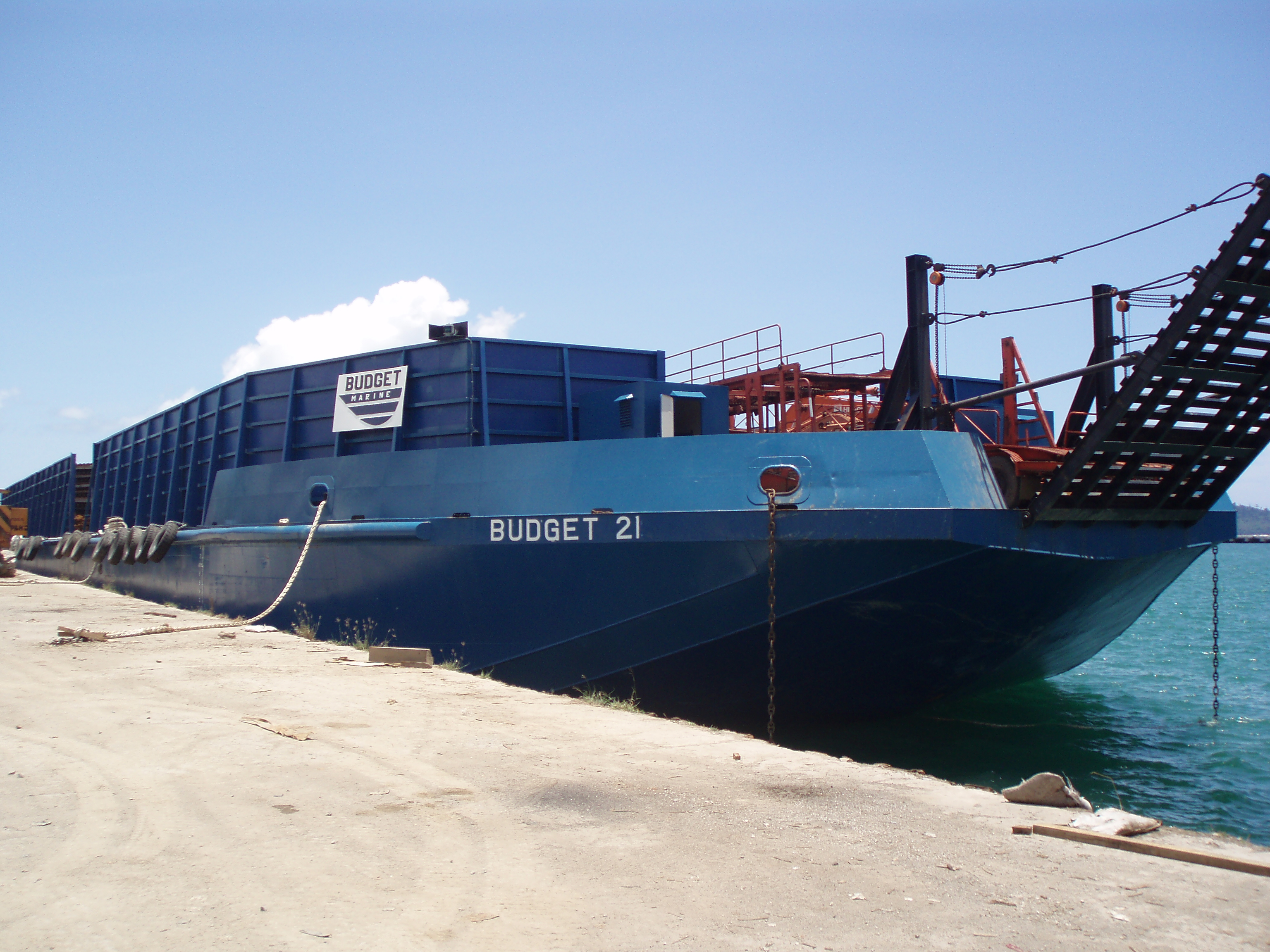 Barge Services – NCT Forwarding & Shipping